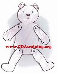 teddy bear 123 play learn child care basics resources