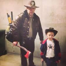 Rick Walking Dead Halloween Costume Updated Walking Dead Costume Contest 2014 Walking Dead
