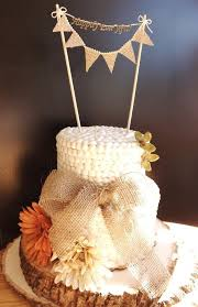 burlap cake toppers bunting banner wedding cake topper wedding cakes with bunting