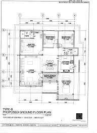 house plans single floor house plan pan villa properties taman seri lumapas single storey