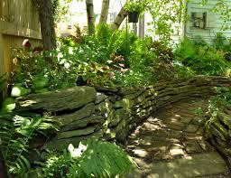 Grassless Backyard Ideas Backyard Garden On Summer St In Buffalo Ny Buffalo