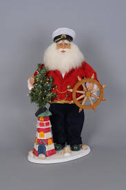 sold out lighted lighthouse santa claus 18