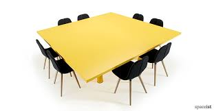 Square Boardroom Table Colourful Office Meeting Tables Long Meeting Tables