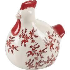 poule deco cuisine poule objet de décoration et blanc poule forme de et forme