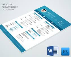 Good Resume Designs Cv Templates U2013 61 Free Samples Examples Format Download Free