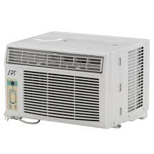 Small Window Ac Units Spt 6 000 Btu 115v Window Air Conditioner With Remote Control Wa