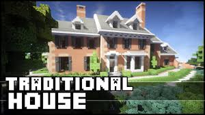 minecraft awesome traditional house youtube