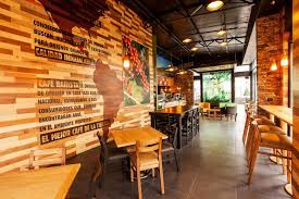 home design forum café barista by interbrand design forum guatemala retail design