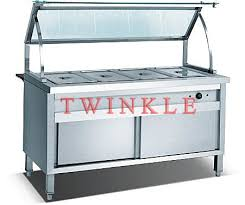 4 pan commercial buffet bain marie food warmer hmt 54 id 6128426