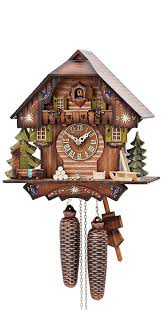 How To Fix A Cuckoo Clock Amazon Com German Cuckoo Clock 8 Day Movement Chalet Style 13