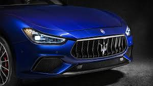 black maserati sports car ghibli