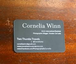 Business Cards With Quotes New York Two Thumbs
