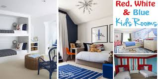 red and blue bedroom ideas for red white and blue kids rooms design dazzle