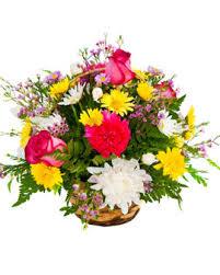 funeral floral arrangements basket floral arrangement 1 perches funeral home