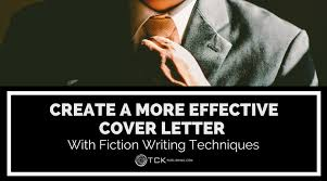 create a more effective cover letter with fiction writing