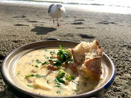 authentic cape basquifornia clam chowder savorbang