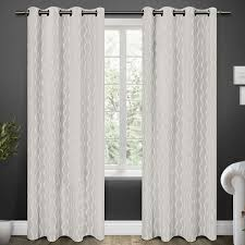 Gray And White Blackout Curtains Home Decor The Best Grey And White Blackout Curtains Pics As Grey