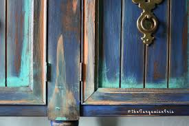 Turquoise Entry Table by The Turquoise Iris Furniture U0026 Art Rustic Boho Console Table