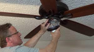 install an emerson ceiling fan light fixture youtube