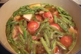 Potatoes As Main Dish - southern green beans and potatoes don u0027t sweat the recipe