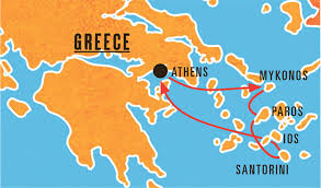 Map Of Athens Greece by Island Hopping In Greece Taylor Violins