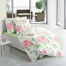 Schlafzimmer Helle Farben Traumschlaf Mako Satin Bettwäsche Hortensie Mako Satin