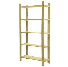 storage u0026 organization cheap 5 tier sanded pine wood shelving