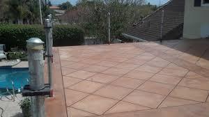 Cheap Patio Floor Ideas Outdoor Flooring Ideas Over Concrete Arrivo Us