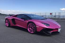 pink lamborghini aventador locked lavender pinker lamborghini aventador sv tuningblog