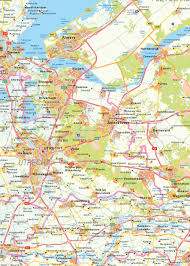 Map Of The Netherlands Digital Map Of The Netherlands 1378 The World Of Maps Com
