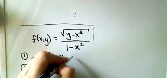 how to find and sketch the domain of a multivariable function