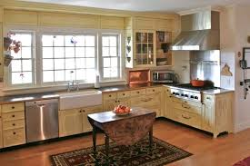 rustic kitchen colors island with stove and sink dark brown