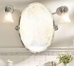 pivoting oval bath mirrors gold shiny tilting mirror pivot pottery