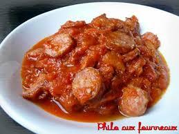 cuisiner des saucisses recette de rougail saucisses par philo