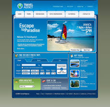 website template 16705 travel agency tour custom website template