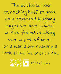 nothing half so cslewis quote gimmesomereads