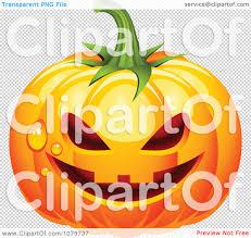 pumpkin no background clipart 3d dewy jackolantern halloween pumpkin royalty free