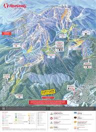 Wisconsin Casinos Map by Heavenly Mountain Resort Trail Map