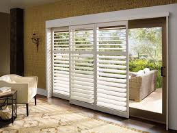 Sliding Glass Door Stopper by Blinds Shades U0026 Shutters For Sliding Glass Doors One Stop Shop