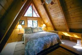 bedroom traditional bedroom set in attic with wood king sized