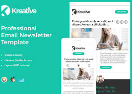 free email newsletter template zippypixels