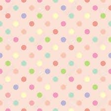 wallpaper polka pink green