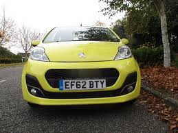 peugeot yellow used peugeot 107 hatchback 1 0 12v active 5dr in sudbury suffolk