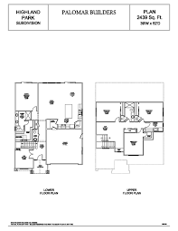 2439 sq ft plan u2013 highland park redding