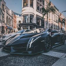 lamborghini veneno how fast a 4 5 million lamborghini veneno hit the streets of l a and