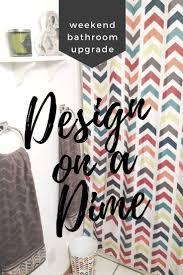 design on a dime bathroom home design ideas