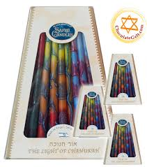 hanukkah candles for sale tricolor dripless chanukah candles made in israel of 12