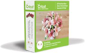 3d floral home decor cricut cartridge