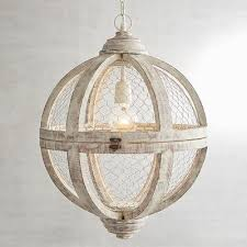 Wood Pendant Light Fixture White Round Wooden Pendant Light