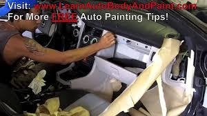how to paint car interior car interior painting video 2 u0026 2